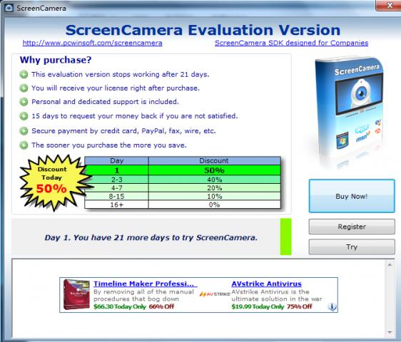 ScreenCamera截图1