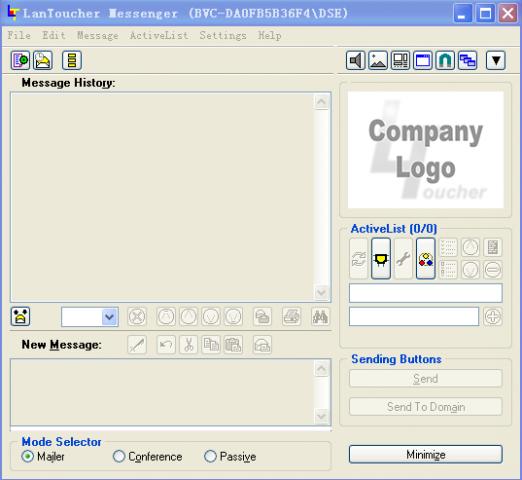 VSL LanToucher Network Messenger截图1