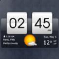 翻转时钟天气部件app icon图