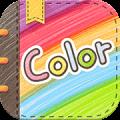 Color多彩手帐app icon图