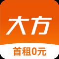 大方租车app icon图