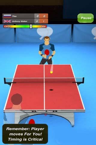 乒乓球手游截图2