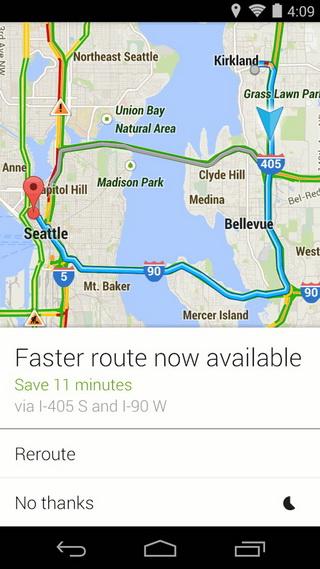 谷歌地图截图3