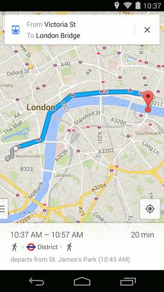 谷歌地图截图2