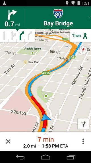谷歌地图截图1