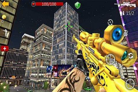 狙击杀手3D II截图2