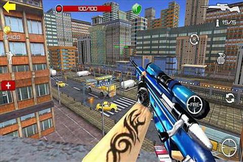 狙击杀手3D II截图1