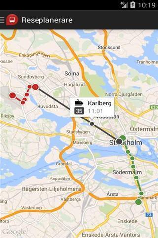 斯德哥尔摩交通app截图2