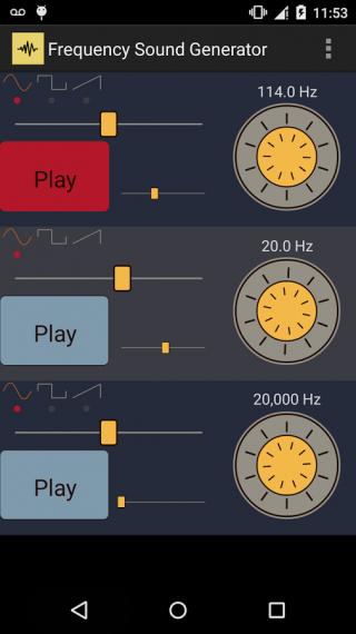 频率的声音发生器截图2