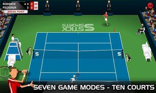 火柴人网球Stick Tennis体育app万博版截图1