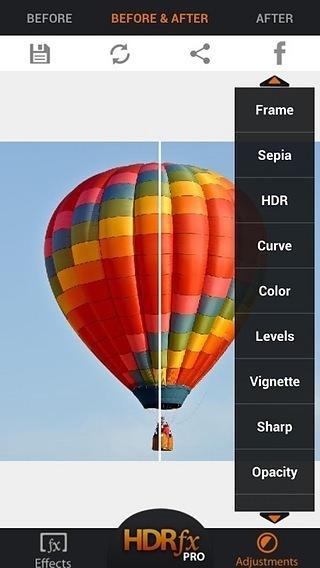HDR FX照片编辑器免费下载截图3