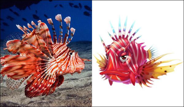 3《3D黄金渔场》萌鱼真鱼大对比 你更爱哪一款?