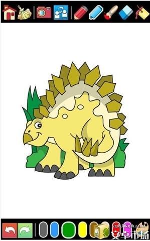 恐龙着色电脑版截图1