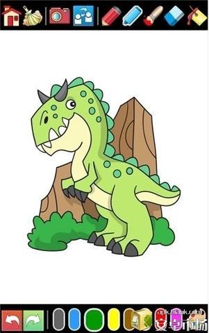 恐龙着色电脑版截图3