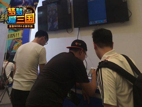 【0804-杭州电魂】手游新闻-《梦梦爱三国》CJ精彩回顾 玩家疯狂求打针_2