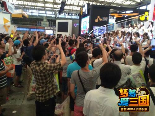 【0804-杭州电魂】手游新闻-《梦梦爱三国》CJ精彩回顾 玩家疯狂求打针_3