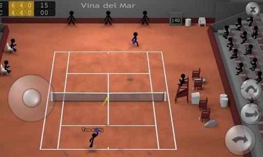 火柴人网球截图1
