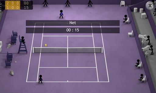 火柴人网球截图3