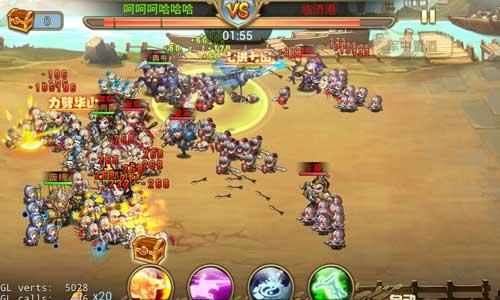 《小小三国志》三国军队复苏 超高AI改变团战