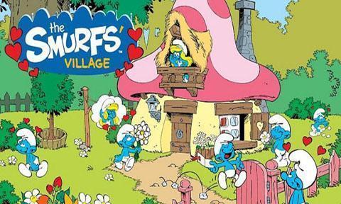 蓝精灵村庄截图1