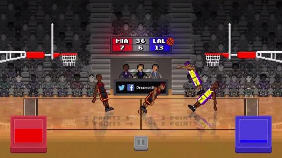抽搐篮球截图1