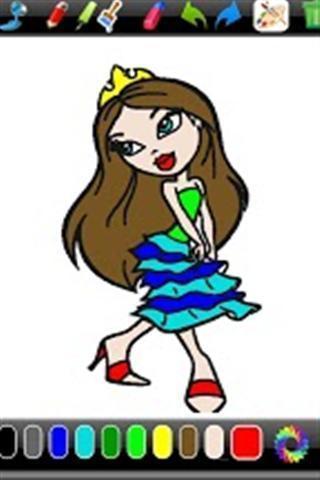 公主涂色截图4