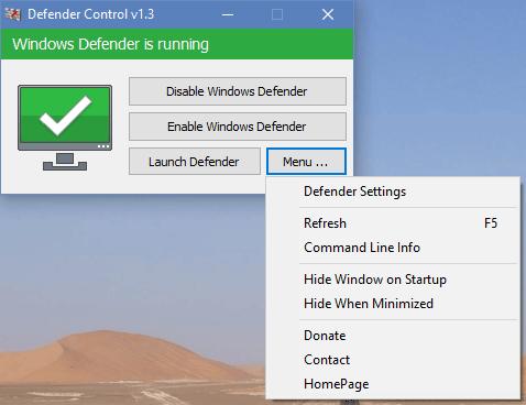 Defender Control截图1