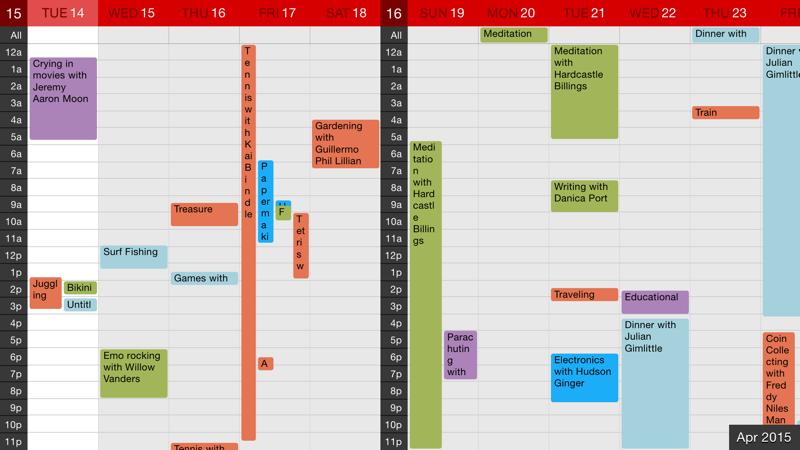 增强日历截图4