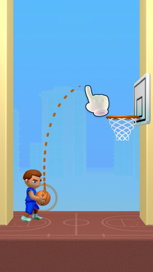 涂鸦篮球截图1