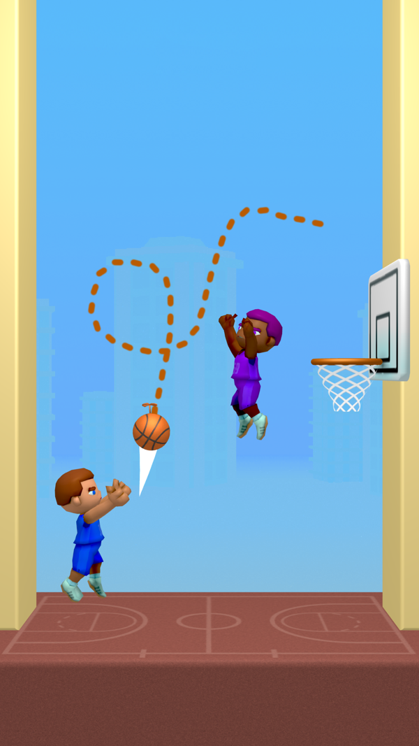 涂鸦篮球截图2