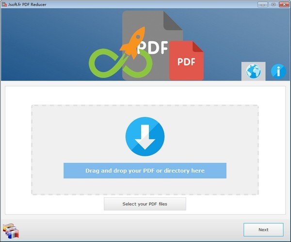 PDF文件压缩器截图1