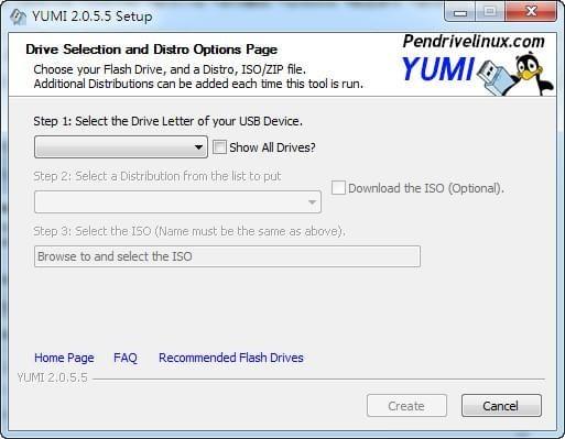 多系统U盘启动盘制作工具截图1