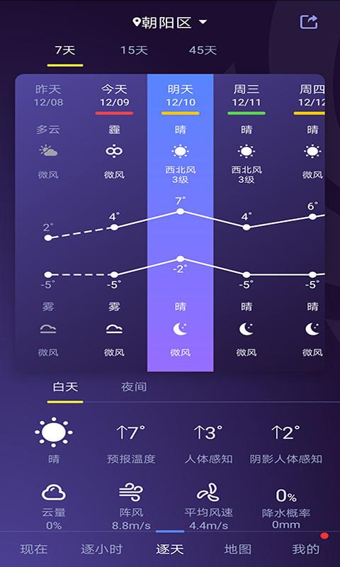 中国天气app截图4