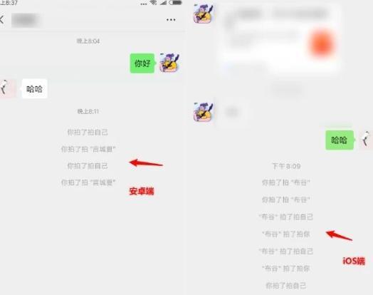 微信拍一拍功能怎么说话 拍一拍显示话增加文字方法