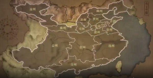 真三国无双霸武将在哪里招募 武将招募地区关系图