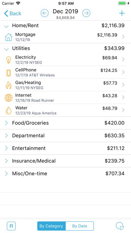 家庭预算 Lite截图2