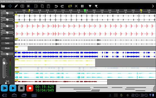 Audio Evolution Mobile DEMO截图1