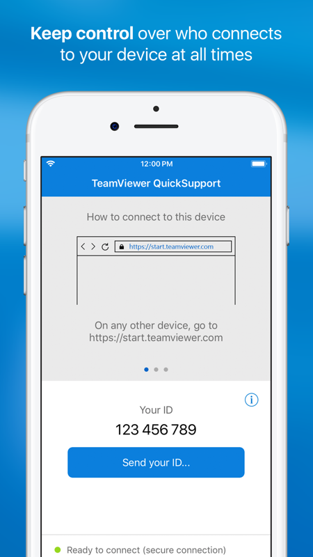 TeamViewer QuickSupport截图3
