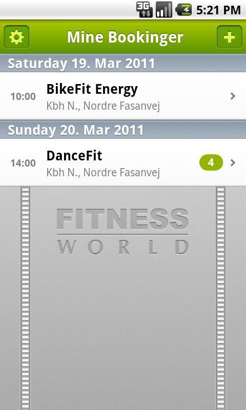 Fitness World截图1
