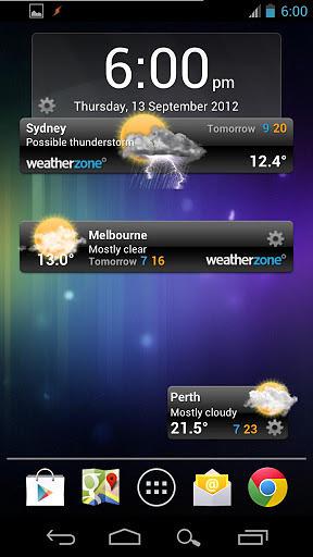 Weatherzone截图2