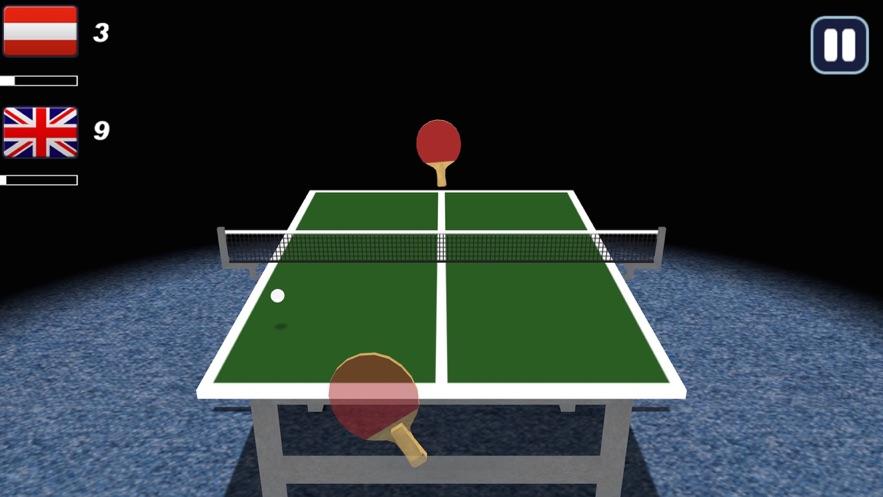3D乒乓球截图3