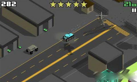 像素公路狂飙电脑版截图1