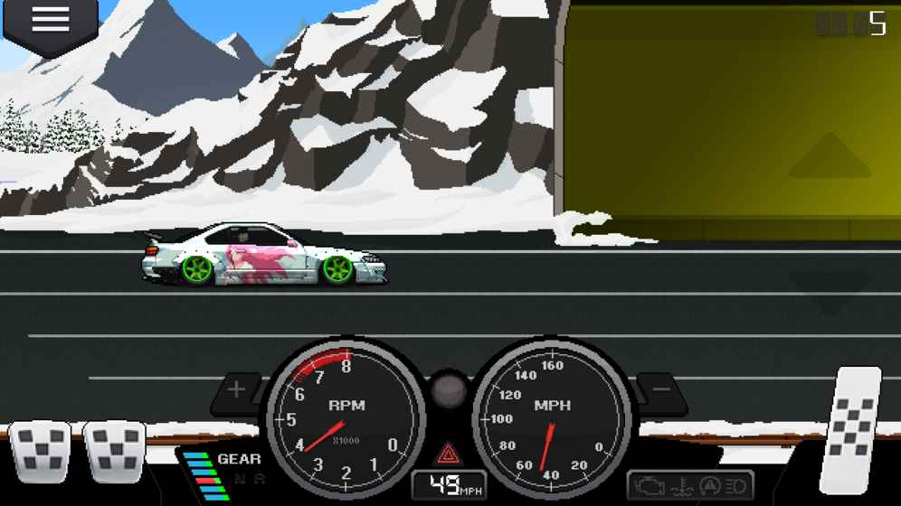 像素赛车手截图3