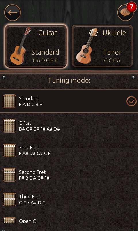 吉他调音器截图4