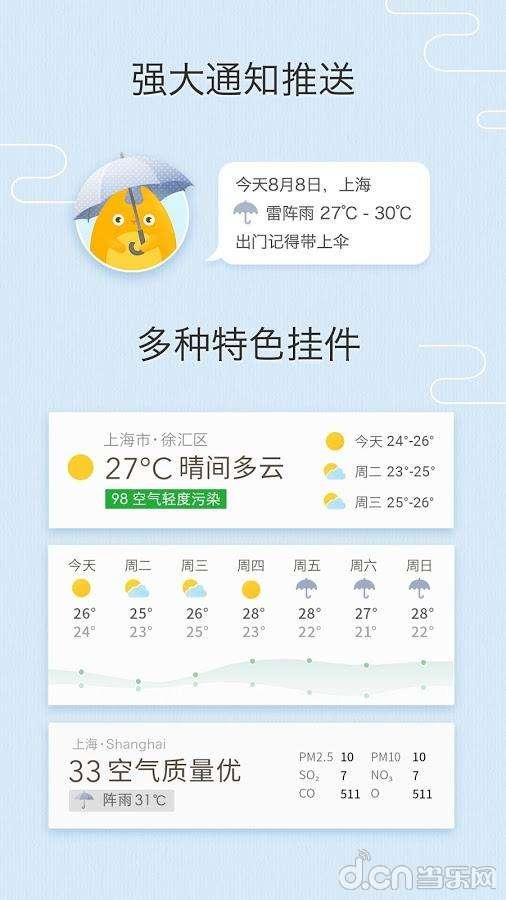 我的天气截图3