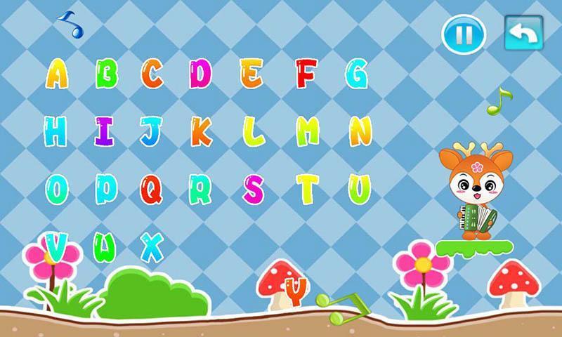 儿童益智英语ABC游戏截图2