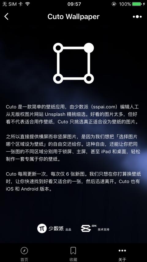 Cuto壁纸小程序版截图2