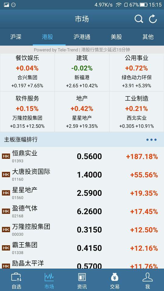 东兴香港交易宝截图2