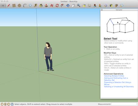 Google SketchUp MAC版截图2