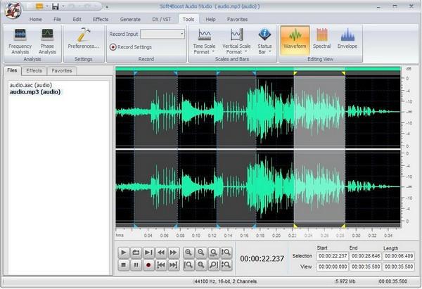 Soft4Boost Audio Studio(音频编辑软件)